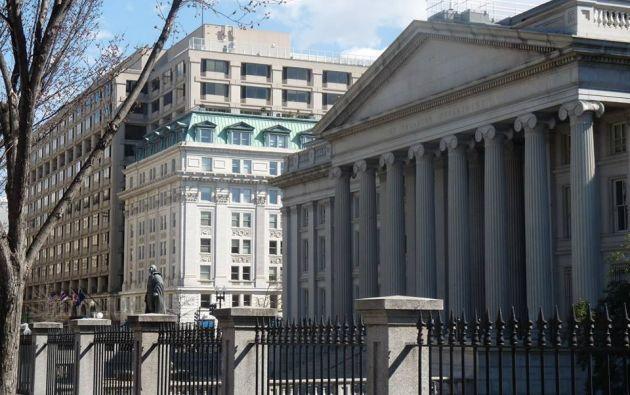 Galo Chiriboga visita Washington para mantener reuniones de trabajo con el Departamento de Justicia.