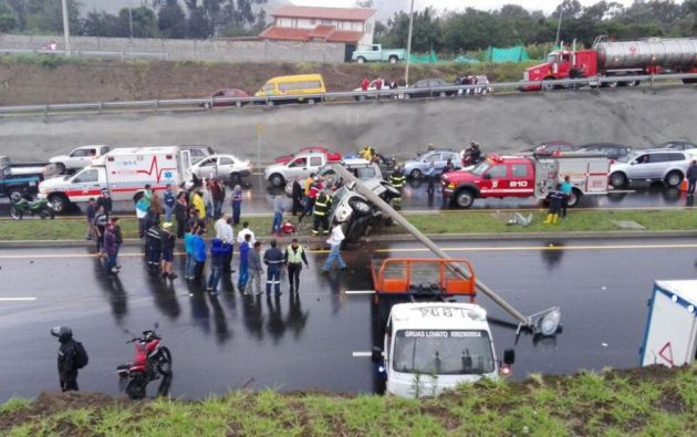 Foto: Twitter / COE Quito.