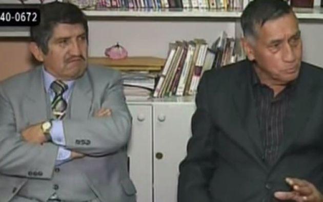 Algunos migrantes que regresaron al país dicen estar arrepentidos como Románd Velasteguí (Derecha). Foto: Captura de video.