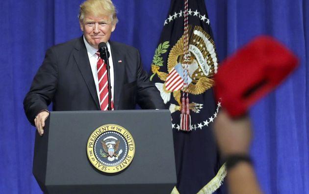 """Según Trump, los """"terroristas radicales islámicos están decididos a atacar"""" al país. Foto: REUTERS."""
