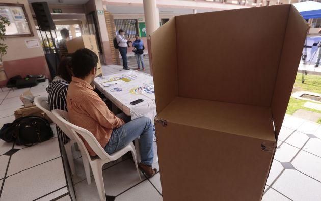 En estas elecciones, la mayoría de los votantes tiene entre 16 y 35 años. Foto: API