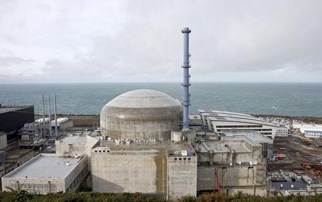 El incidente en la planta nuclear se debió a una falla técnica. Foto: Agencias