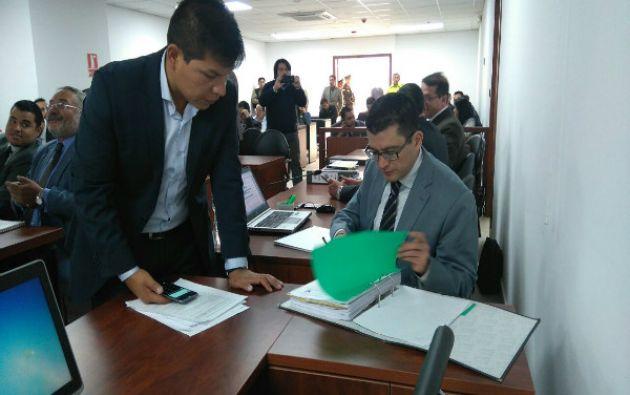 Hoy se realiza la audiencia preparatoria de juicio por el delito de enriquecimiento ilícito contra Álex Bravo. Foto: Fiscalía