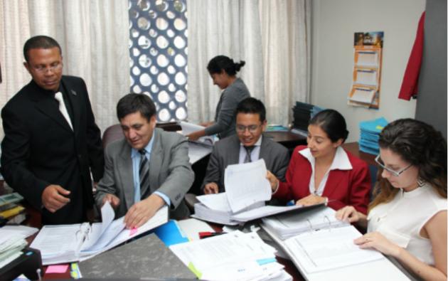 Wilson Toainga, fiscal del caso Odebrecht en Ecuador, está desde el 9 de febrero en Brasil. Foto: Fiscalía General del Estado-