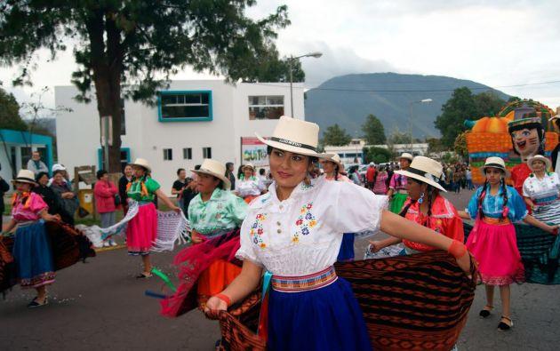 En Quito en cambio se realizó el Cranaval andino en Amanguaña y otro en la parroquina La Mena.