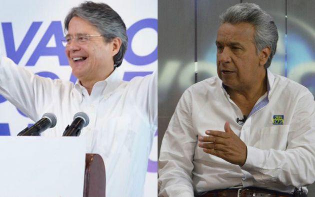 La muestra da como ganador en segunda vuelta al candidato presidencial Guillermo Lasso del movimiento CREO, con 52,1 %.
