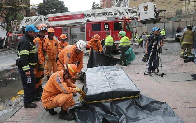 El ELN se adjudicó el domingo, 26 de febrero, el atentado contra una patrulla policial, ocurrido el 19 de febrero cerca de la plaza de toros de Bogotá. Foto: Archivo