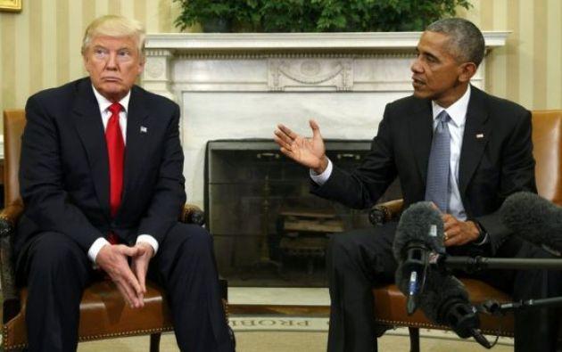 """Trump también criticó al Obamacare y reiteró que su plan sobre inmigración es """"echar a la gente mala"""". Foto: referencial"""