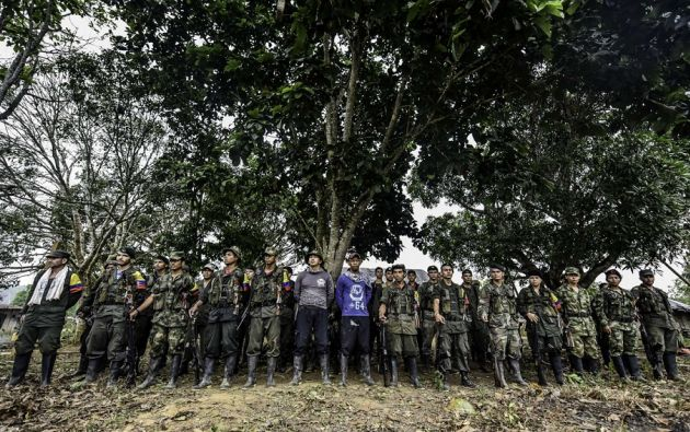 La agenda también incluye un saludo a los integrantes del Ejército y la Policía que prestan protección y seguridad en el área. | Foto tomada de: ultimasnoticias.com.ve
