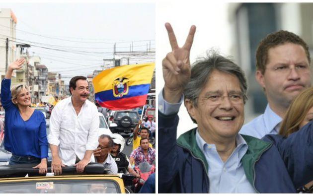 El Alcalde Nebot ratificó su apoyo al candidato de CREO, Guillermo Lasso, en su enlace radial. Foto: Referencial