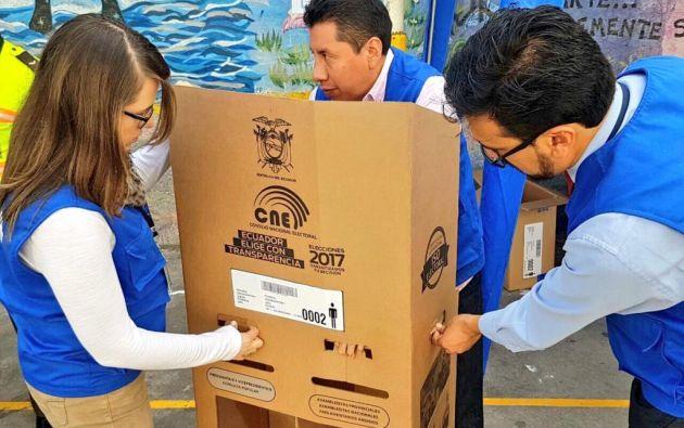 Los ecuatorianos volverán a votar el próximo domingo 2 de abril de 2017. Foto: Archivo / Twitter @pichincha_cne