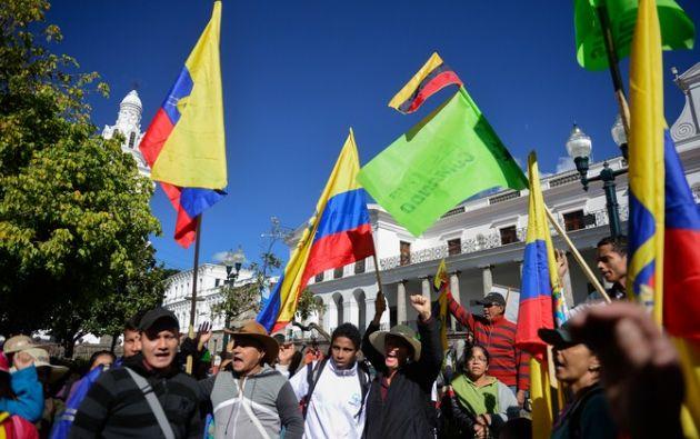 """QUITO, Ecuador.- El presidente Correa reiteró la convocatoria a la marcha del 8 de marzo para """"recordar el feriado bancario"""". Foto: Archivo"""