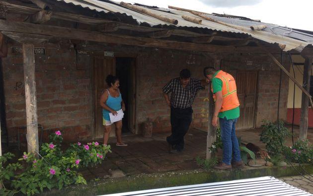 La Secretaría de Gestión de Riesgos apuntó que 22 provincias sufren estragos por las fuertes lluvias. | Foto: Secretaría de Gestión de Riesgos