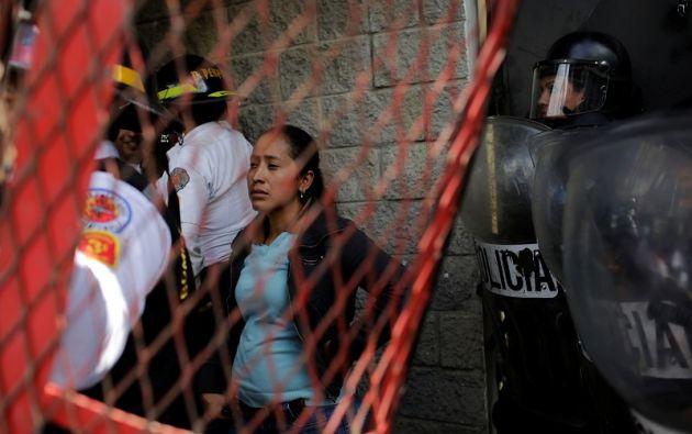 El siniestro, cuyas causas se desconocen por el momento, dejó otros 25 internos con quemaduras de primero, segundo y tercer grado. Foto: Reuters.
