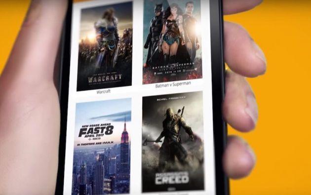 App Cinepapaya, la descarga es gratuita.   Foto: Internet