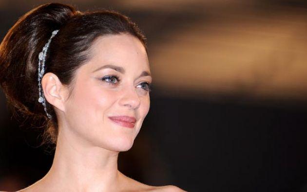 Marion Cotillard hace poco estrenó la película Aliados, en la que actúa con Brad Pitt. Foto: Agencias