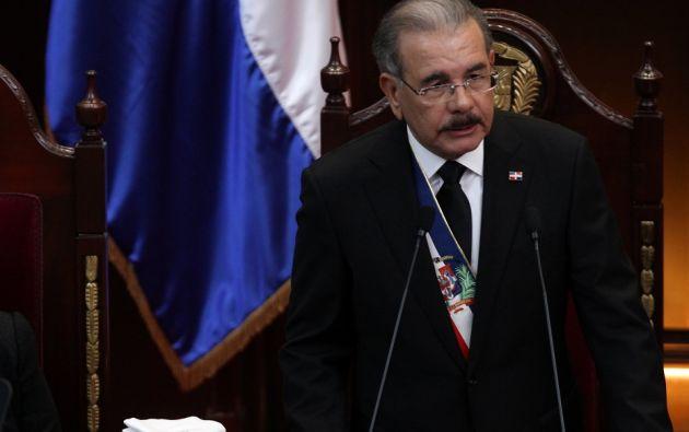 Imagen de archivo de Medina, durante un discurso el pasado 27 de febrero. Foto: Reuters.