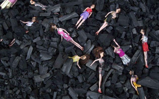 En la gráfica se observan restos del incendio en el centro de menores. Varias de las niñas estaban encerradas con llave. Foto: Tomada de Récord