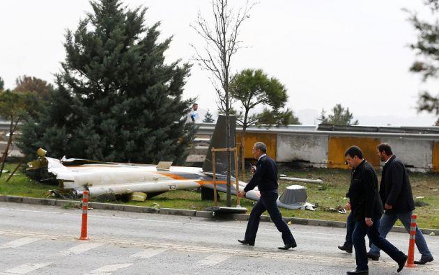 El accidente se produjo en Buyukçekmece, al oeste de Estambul. Foto: Reuters.