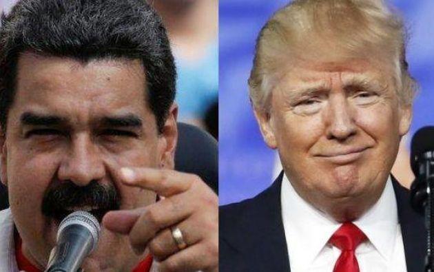 Debido a su mala pronunciación, los dichos del mandatario venezolano no se entendieron.  Foto: Internet