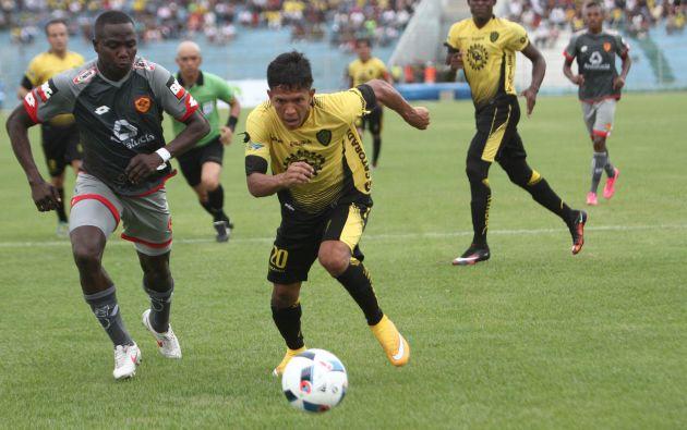 Fuerza Amarilla abre la sexta fecha del campeonato de fútbol hoy en Machala. Jugarán contra Emelec. Foto: Tomado de Andes