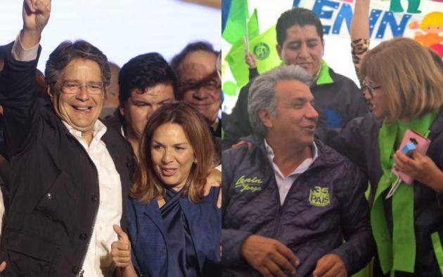 Lasso promete un gobierno transparente; Moreno ofrece construir 325 mil viviendas.
