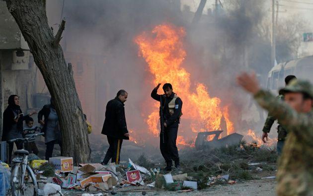 La explosión se produce cinco días después de un importante ataque a un hospital. Foto: Reuters.