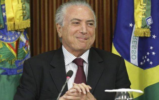 """BRASILIA, Brasil.- Temer anunció que el gobierno ordenó """"acelerar las auditorías de los establecimientos citados en la investigación de la Policía Federal. Foto: AP"""