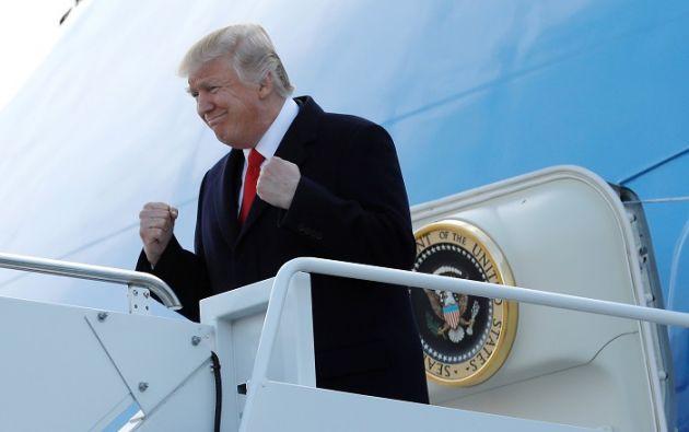 La nuera del presidente estadounidense está ya en el segundo trimestre de su primer embarazo. | Foto: Reuters.