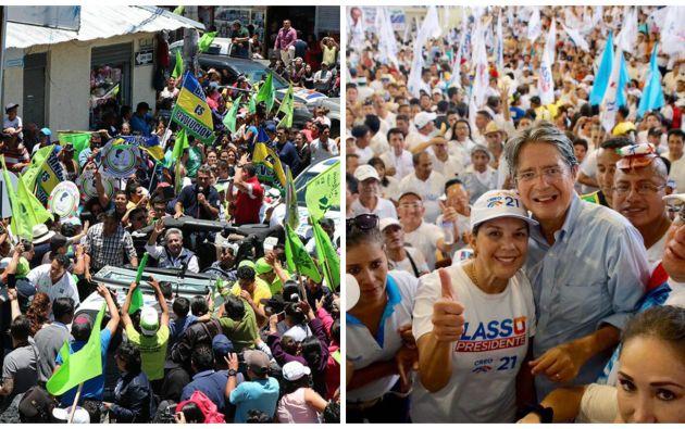 Mientras Moreno obtuvo mayor apoyo popular en Manabí, Lasso ganó ampliamente en la Sierra Centro. Foto: Referencial