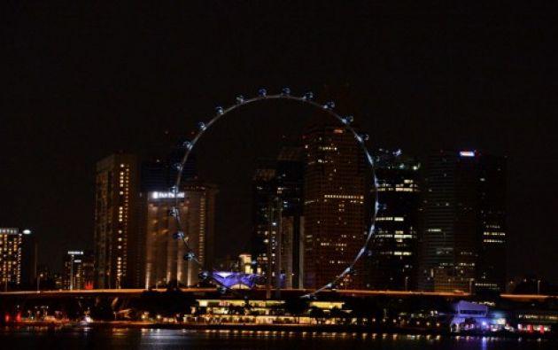 Singapur.- Se espera que 170 países y territorios participen en la iniciativa anual para resaltar el calentamiento global. Foto: AFP