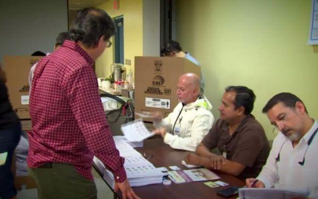 El cónsul de Miami se reunirá el lunes 27 con delegados de CREO para resolver inquietudes. Foto: Captura Video.
