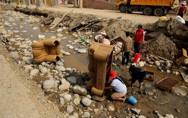 El número de damnificados en todo el país se actualizó en 124.161 y el de afectados en 813.239.   Foto: Reuters.