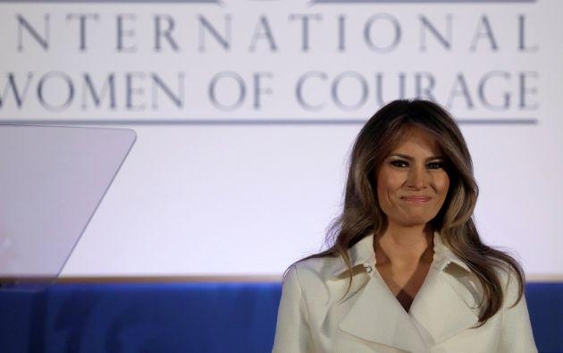 Las palabras de la primera dama contrastaron con las acciones del gobierno de su esposo. | Foto: Reuters.
