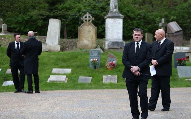 El cantante fue enterrado este miércoles. | Foto: Reuters.