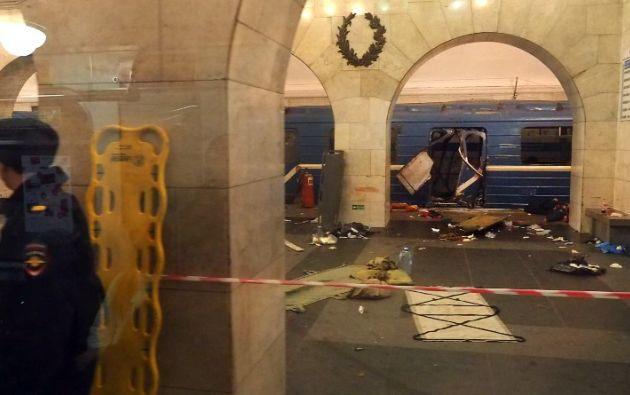 Las víctimas eran de Rusia, Bielorrusia, Kazajistán y Uzbekistán, según las autoridades locales.  Foto: AFP