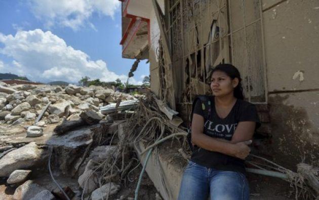 Contraloría de Colombia investigará presuntas responsabilidades en alud en Mocoa.  Foto:AFP