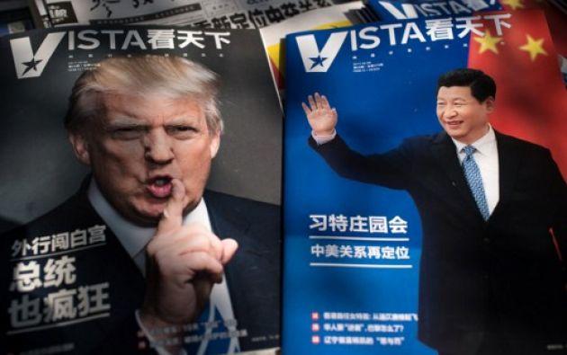 Es la 1era vez que los presidentes (estadounidense y chino) se reunirán.| Foto: AFP