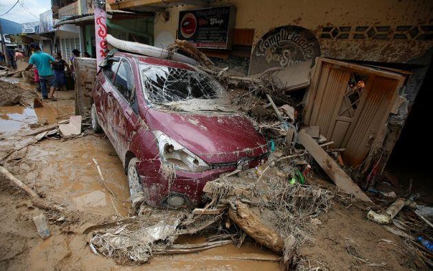 Según un estudio, la tragedia de Mocoa podría repetirse en 385 sitios más de Colombia. Foto: REUTERS.