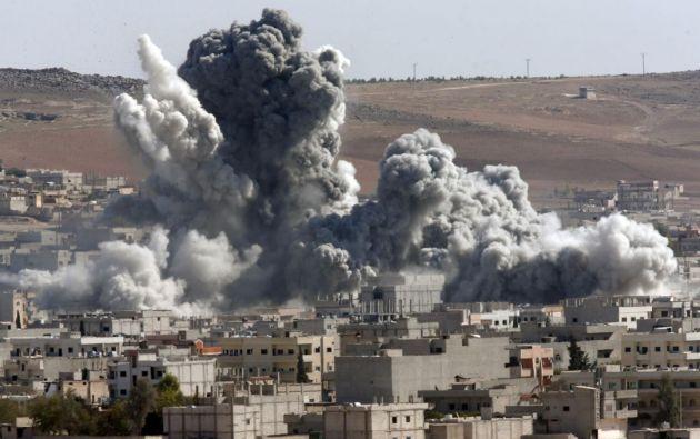 La UE trabajará con EEUU para poner fin a la brutalidad en Siria.| Foto: Hispan TV