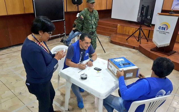 Audiencia pública de escrutinio realizada en la provincia de Pichincha. Foto: Twitter | Juan Pablo Pozo.
