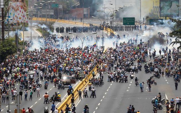 En los últimos días, las protestas se han intensificado. Foto: Reuters.
