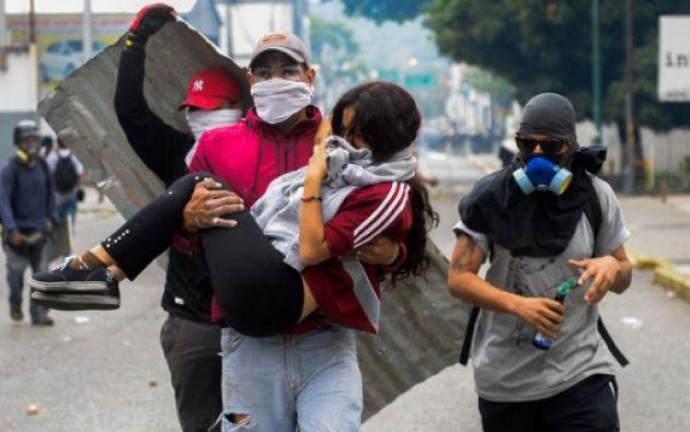 """La Fiscalía informó este martes que imputará a 40 personas """"presuntamente incursas en distintos hechos de violencia"""" . Foto: AFP"""
