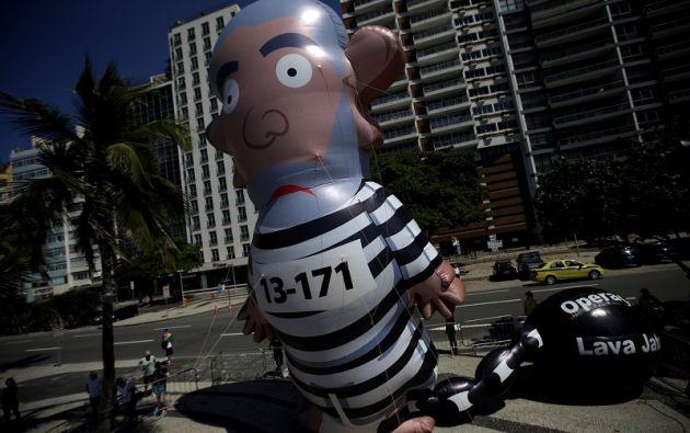 El caso Lava Jato ha desatado un sinnúmero de protestas en Brasil. Foto: Reuters.