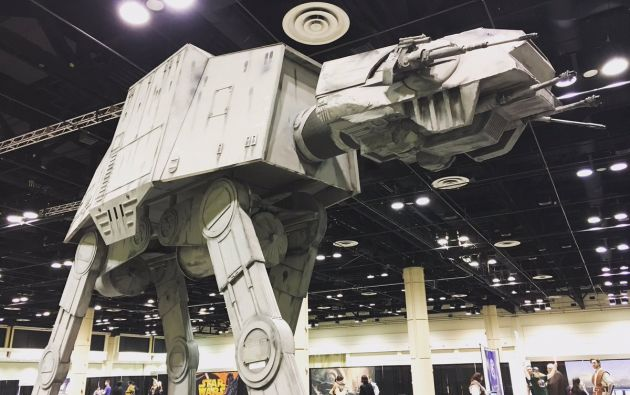 Foto: Twitter / Star Wars Celebration.