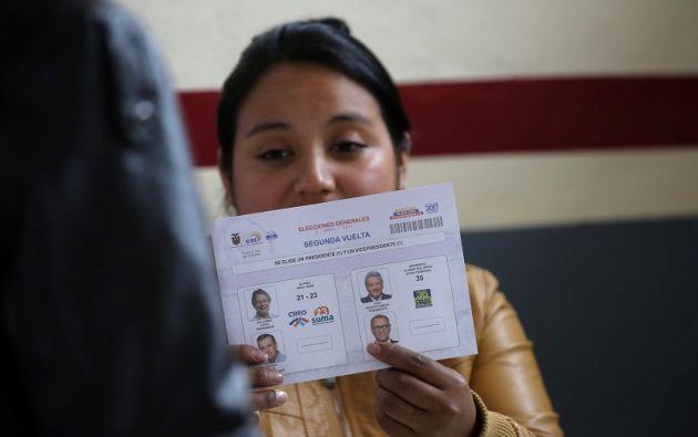 Tras denunciar un supuesto fraude en las elecciones del pasado 2 de abril, CREO-SUMA buscaba el recuento del 100% de los votos. Foto: Reuters.