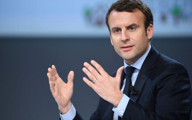 Emmanuel Macron, exministro de Economía, es uno de los favoritos en los sondeos presidenciales de Francia. Foto: Agencias