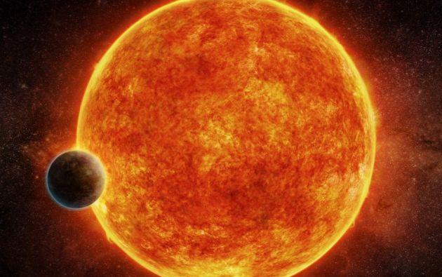 El exoplaneta orbita en la zona habitable de su estrella. Foto: AFP.
