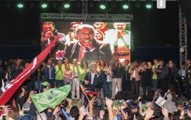 El presidente electo, Lenín Moreno, ha asegurado que seguirá con la línea de gobierno de la Revolución Ciudadana. Foto: Vistazo