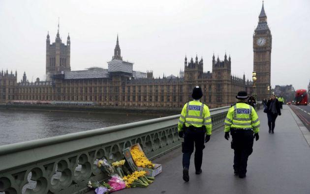 El hombre fue detenido hoy en el barrio londinense de Westminster, cerca del Parlamento británico.| Foto: Internet